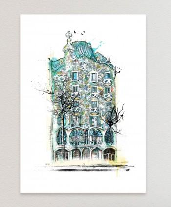 Lámina - Casa Batlló