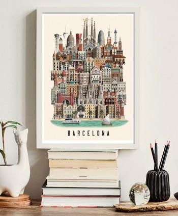 Póster Barcelona by Martin...