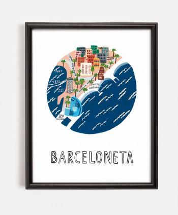 Lámina - Barceloneta