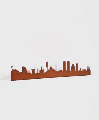 Figura Skyline Barcelona