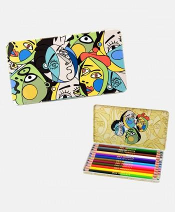 Set de lápices - Caras Arte...