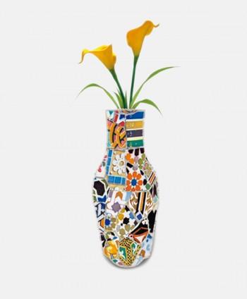 Fabric Vase - Trencadis Colors
