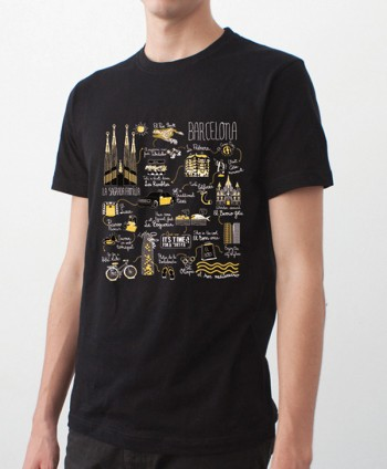 T-shirt - Illustrated Map...