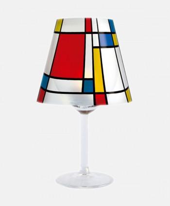 Pantalla Portavelas - Mondrian