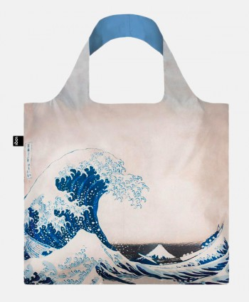 Shopping bag - Hokusai Wave