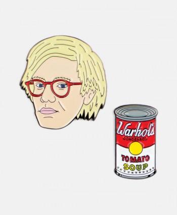Set Pin - Warhol & Tomato Soup