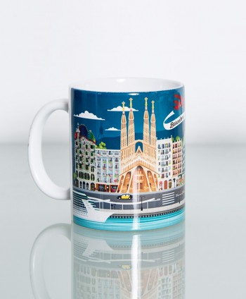 Mug - Barcelona Highlights