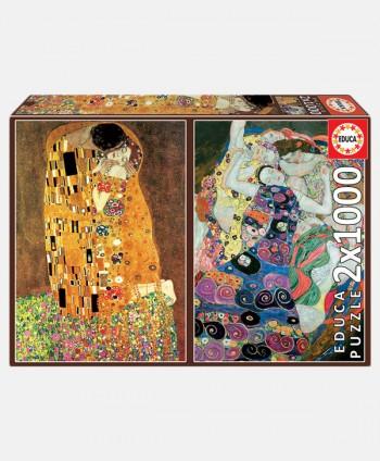 Puzzle - Klimt 2 x 1000 pcs