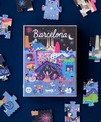 Puzzle Day&Night Barcelona