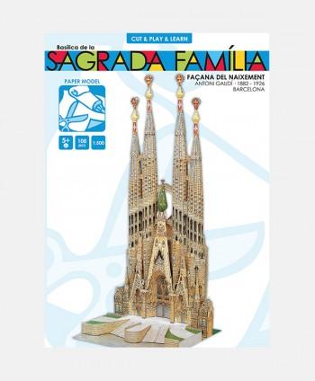 Recortable Sagrada Familia