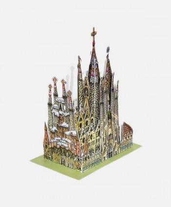 Mini Cut Kit Sagrada Familia