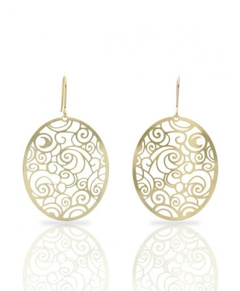The Starry Night Gold Earrings