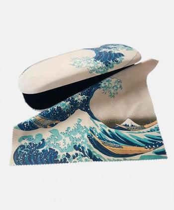 Glasses Case - Hokusai