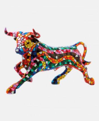 Bull Mosaics Multicolor New