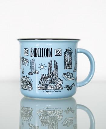 Mug Iconos Barcelona
