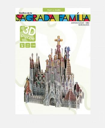 3D Puzzle - Sagrada Familia