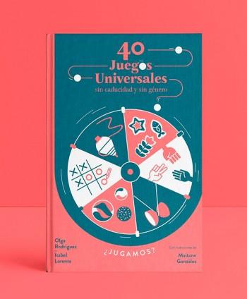 """Book """"40 juegos universales..."""