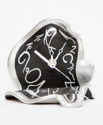 Reloj Surrealista Mesa Plata