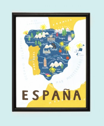 Art Print - Spain