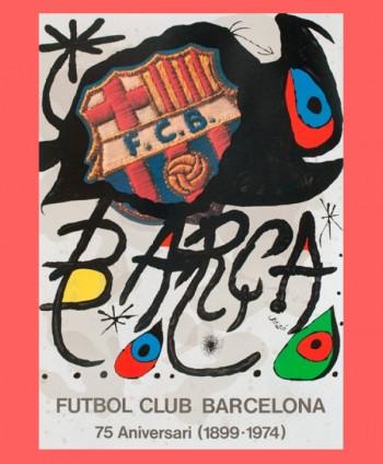 "Poster ""Futbol Club..."