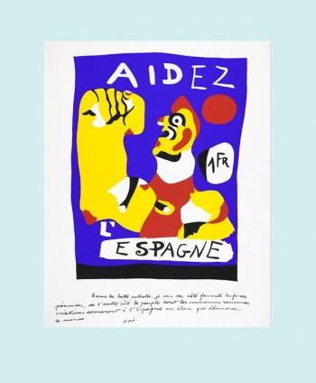"""Serigrafía """"Aidez..."""