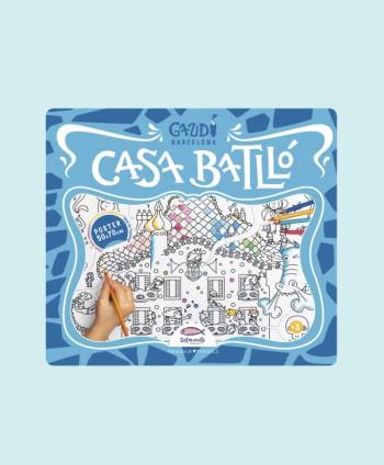 Coloring Map - Casa Batlló
