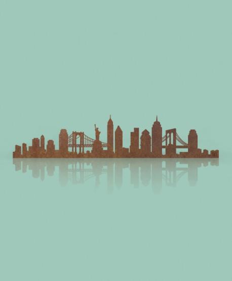 Figura Skyline Nueva York