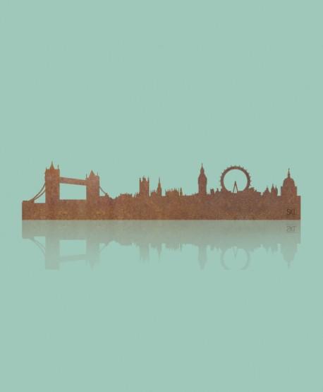 Figura Skyline Londres