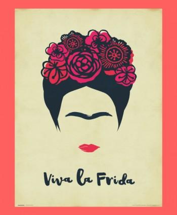 Póster Viva la Frida