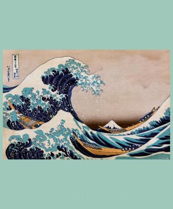 Póster La Ola de Hokusai