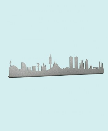 Barcelona Silver Skyline