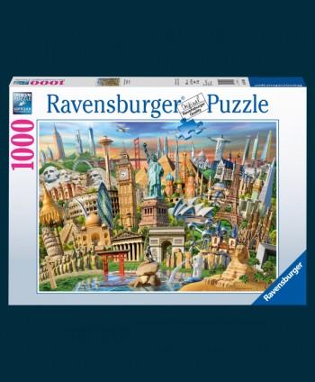 Monuments Puzzle 1000 pieces