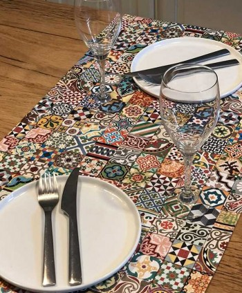 Table Runner - Tiles of...