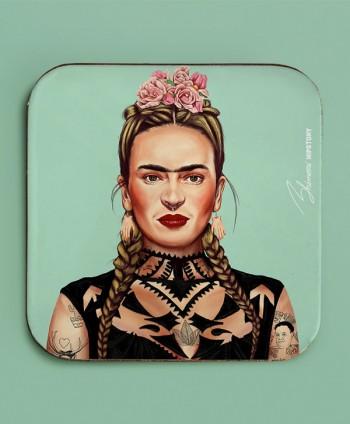 Posavasos - Frida Hipster